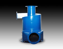 GPC industrial dust collector