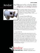 Top 5 Reasons to Use a Dust Collector Before a Baghouse Dust Collector.