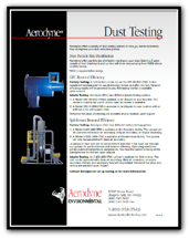 dust testing